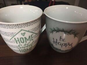 2 Tee Tassen