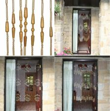 Provence Beaded Bamboo Door Curtain 31 Strands Summer Fly Curtain 180 x 90cm