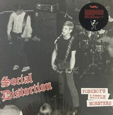 SOCIAL DISTORTION Poshboys Little Monsters Punk RADIATION RSD 2019 import Red LP