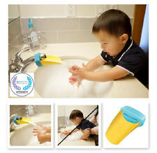 New Aqueduck Faucet Extender Helps Kids Reach Faucet Blue or Pink Toddler gift