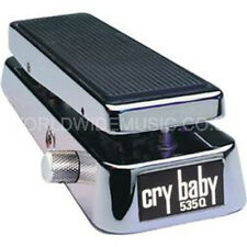 JIM Dunlop 535Q Chrome CRY BABY WAH WAH PEDALE
