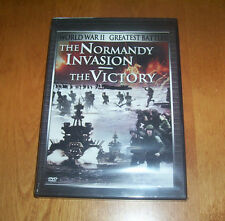 WORLD WAR II GREATEST BATTLES The Normandy Invasion The Victory WWII DVD NEW