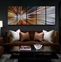 METAL Abstract  Wall Art Modern Original painting Large Contemporary sign decor
