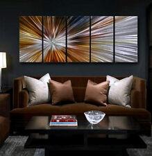 Metal Pared Arte abstracto moderno original pintura gran signo decoración contemporánea