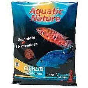 2 kg Aquatic Nature African Cichlid Excel Color S (26,40 €/kg)