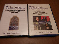 MIXED LOT OF 2 GREAT MASTERS:BEETHOVEN HIS LIFE AND MUSIC CONSCIOUSNESS&IMPLICAT