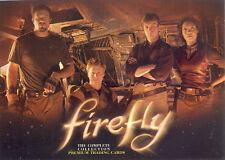 FIREFLY TV SHOW THE COMPLETE COLLECTION 2006 INKWORKS PROMO CARD P-UK