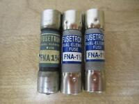 Fusetron FNA-1-1/4 Fuses FNA114 (Pack of 3)