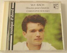 W.F. Bach: OEuvres pour clavecin Christophe Rousset CD