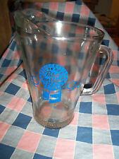 "Pabst Blue Ribbon Beer Pitcher 9 1/8"" High Great Condition"