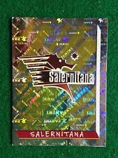 CALCIATORI 2000 1999-00 n 610 SALERNITANA SCUDETTO , Figurina Panini NEW