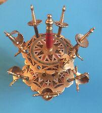 Vtg Brass Toledo Spain Sword Hors d'oeuvre Appetizer Picks (12)