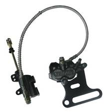 BIKE BRAKE SYSTEM PITBIKE BACK BREAK CALIPER REAR MASTER CYLINDER BLACK NEW