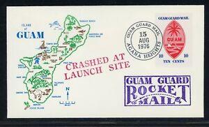 Guam Guard Mail Postal History LOT #1 - ROCKET MAIL - SEE SCAN - $$$