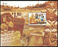 New Zealand SC1281a Souv.Sht. Rugby-Rugby League MNH 1995