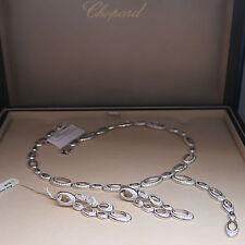 Exclusive Chopard Ohrhänger Ohrringe mit 392 Diamanten 2,09ct FC UVP. 30.770,- €