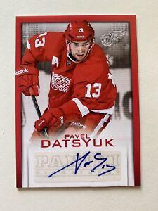 2013-14 Panini Signatures Pavel Datsyuk SP Autograph