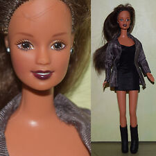 "1990s Mattel Barbie 11.5"" Teresa Doll Latina Fashionista Clothes Jacket Boots"