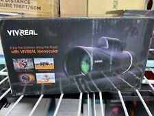 New/Nib VivReal Monocular Ae8889 12X Magnification & 50mm lens