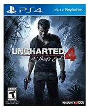 NEW Uncharted 4: A Thief's End (Sony PlayStation 4, 2016)