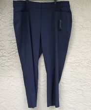 NEW Lane Bryant Plus Size 24R The Ashley Blue Curvy Fit Dress Pants