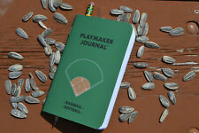 Playmaker Journal: Baseball/Softball Single-Player Scorebook