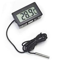 LCD Digital Fridge Freezer Thermometer Temperature Black