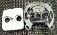 Kathrein ESD 44 Sat Antennendose Durchgangsdose Unterputz mit Abdeckplatte