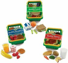 Kitchen Set Pretend Play Learning Resources Healthy Foods Childrens Kids New