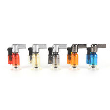 Windproof Refillable Lighter Butane Jet Flame Torch Welding Camping NO GAS*~*