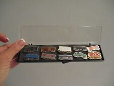 Vintage Train Railroad Buttons Lapel Pins Nyc East Coast Eastern District Nos!