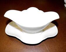 Hutschenreuther selb porcelaine: ancienne saucière blanc monobloc