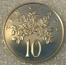 1972 FM JAMAICA  🇯🇲TEN 10 CENTS PROOF COIN, 17,000 MINTED