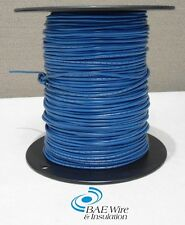 18 AWG UL1015 MACHINE TOOL WIRE - BLUE - 500 FEET