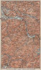 Haute savoie samoëns megève st gervais houches flaine les gets morzine 1909 carte