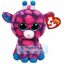 Ty Beanie Boos Regular Sky High The Giraffe Pink and Purple Plush Stuffed Toy