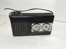 DDR Transistor Radio Signal - 402, Made in USSR, mit Ledertasche