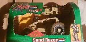 Gi Joe 2002 Sand Razor Hasbro vehicule Fonctionne encore emballé