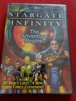 Stargate Infinity - The Adventure Begins (DVD, 2007) New Factory Sealed