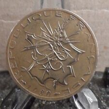 CIRCULATED 1980 10 FRANCS FRENCH COIN (3217))1......FREE SHIPPING!!!!!
