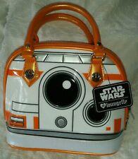 "New $69 DISNEY Original Rogue One 10"" Star Wars BB8 Force Handbag Purse NOT Mini"