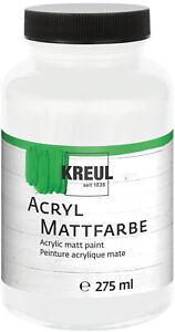 Acrylfarbe Kreul 275 ml Mattfarbe Malfarbe Bastelfarbe