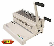 Akiles MegaBind-1 Comb Binding Machine & Punch 14-inch [New] AMB-1 with Warranty