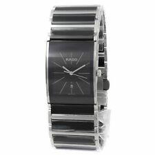 Rado R20784152 Integral 27mm Black Ceramic Case Mens Watch