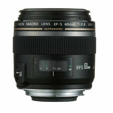 Canon EFS60MU Ef-s 60mm F/2.8 Macro USM Diameter 52mm to Suit Lens Hodd Et-67b