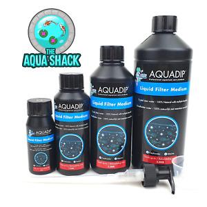 Aquadip Liquid Filter Medium Crystal Clear Water Aquarium Treatment Fish Tank