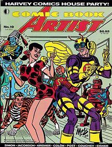 COMIC BOOK ARTIST #19 JUN 2002 HARVEY COMICS HISTORY DAN DECARLO EISNER STERANKO