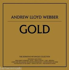 ANDREW LLOYD WEBBER ( NEW CD ) GOLD : THE DEFINITIVE GREATEST HITS VERY BEST OF