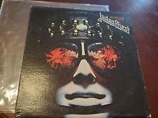 Original 1978 Press Judas Priest Hell Bent for Leather Lp !