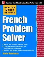 French Problem Solver (Paperback or Softback)